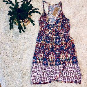 Michael Stars Boho Floral Summer Dress